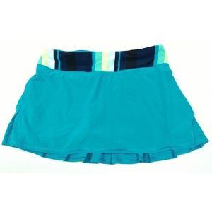 Lululemon Stripe Surge Run Pace Setter Skirt 6